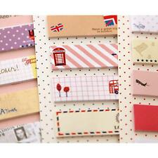 Office Supply Bookmark Marker Memo Sticky Notes Sticker Post-It Cute Pattern New