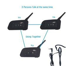 Match Football Soccer Referee Intercom 1200M Bluetooth Kit 4 Users Full Duplex