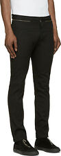 DIESEL BLACK GOLD PATOP BLACK TROUSERS SIZE 46 (S) 100% AUTHENTIC