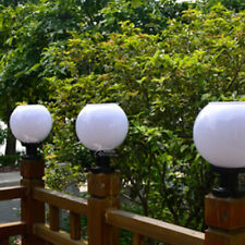 Outdoor Solar Power LED Path Stand Wall Landscape Mount Garden Fence Lamp Light