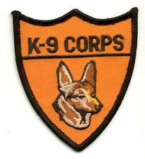 """K-9 Corps 3"""" Patch"""