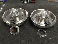 FORD FOCUS 2 REAR BRAKE DRUMS BEARING FITTED NEW ABS RING