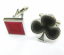 Clubs n Diamond Playing Cards Sign Cufflinks Casino Cuff Links 100 For 7 items