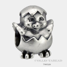 Authentic Pandora Sterling Silver Easter Chick Bead 790528 *RETIRED*