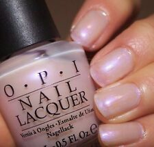 New! OPI  *ALTAR EGO* Light Pink Iridescent Pearl French Nail Polish Lacquer S78