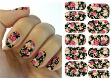 Flower Decal Water Transfer Manicure Nail Art Stickers Tip Decoration Design Tip