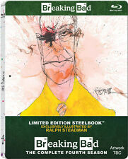 BREAKING BAD, Season 4 (3 Blu-ray Discs, Steelbook U.K.) NEU+OVP