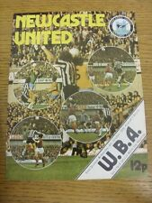 06/10/1976 Newcastle United v West Bromwich Albion  . Condition: Listed previous