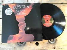 MICKAEL JACKSON SCREAM VINYLE MAXI 45T 33T LP VINYLE EX COVER EX