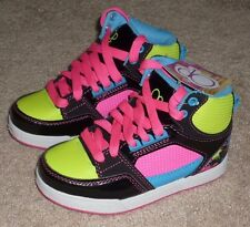 Girls Size 12 Op Multi Neon Color Sneakers High Top Shoes - BRAND NEW
