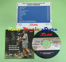 CD The amazing adventures of JOHN SURMAN 2001 MUSICA JAZZ (Xs1) no lp mc dvd