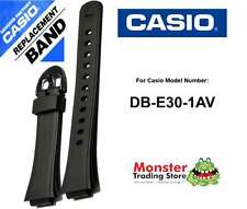 REPLACEMENT CASIO WATCH BAND ORIGINAL ONLY FITS: DB-E30-1AV