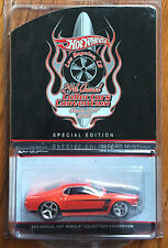 Hot Wheels 24th Collectors Convention 2009 Charity Car '69 Ford Mustang RR /2000