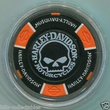 Harley Davidson WILLIE G Skull Card Guard Cover in protective case