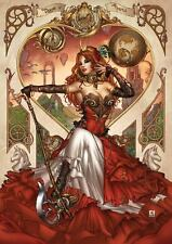 Grimm Fairy Tales Presents Steampunk Alice In Wonderland Cover C Mike Krome