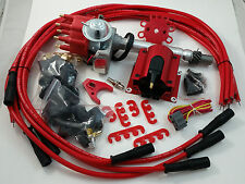 BB Chevy BBC Small Cap H.E.I HEI Distributor Kit W/ 8.5 MM  Wires & E-Core Coil