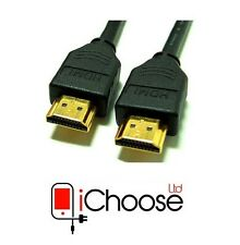 HDMI Cable Lead 2m, for 1080p HDTV, Xbox 360, MacBook, PS3, PC, Laptop, Blu-ray