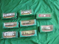 Hess Miniature Truck Lot All New in Box