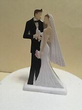 Wedding cake topper sposa e sposo