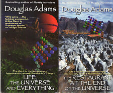 Complete Set Series - Lot of 6 Hitchhiker's Guide to the Galaxy by Douglas Adams
