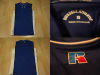 Women's Russell Athletic S Softball Jersey Royal Blue & White