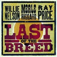 "WILLIE NELSON/MERLE HAGGARD ""LAST OF THE BREED"" 2 CD"
