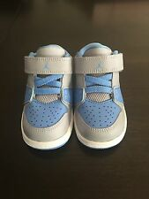 NEW Nike AIR Jordan 1 Flight 2 Low, Baby/Toddler Boys Shoes, Size 5C Gray/ Blue