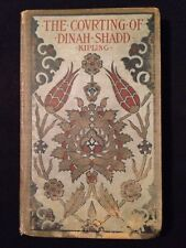 "Vintage Book ""The Courting of Dinah Shadd"" - Rudyard Kipling - Antique Books"