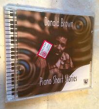 DONALD BROWN CD PIANO SHORT STORIES BG9601 1995 JAZZ