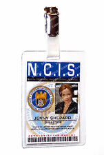 NCIS Jenny Shepard ID Badge Forensic Specialist Cosplay Costume Prop Comic Con