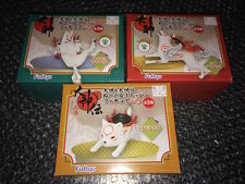 OKAMI okamiden Full Set 3 NOODLE STOPPER exclusif JAPAN Jap Jp NEW SEALED rare