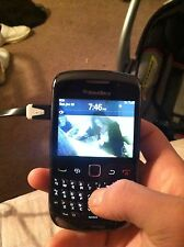 100$ BlackBerry Curve 8530 - Black (Verizon) Smartphone Plus SD card For 20$