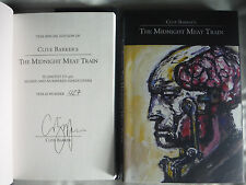 ***SIGNED Limited Ed*** Clive Barker's the Midnight Meat Train Hardcover (NEW)