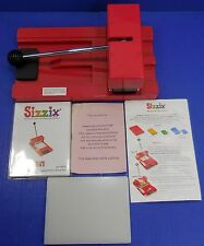 Provo Craft Sizzix Die Cutter Machine Personal Die-cutter Red Cutting Pad 5137