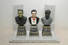 SIDESHOW UNIVERSAL MONSTERS LEGACY COLLECTION BUSTS FRANKENSTEIN DRACULA WOLFMAN