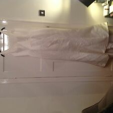 Justin Alexander Size 12 Ivory Wedding Dress