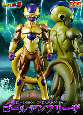 MEGAHOUSE DOD DIMENSION OF DRAGON BALL SUPER GOLDEN FREEZER NUOVO NEW