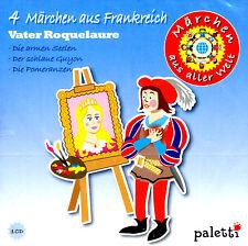 """CD Hörbuch 4 Märchen aus Frankreich """"Vater Roquelaure"""" ab 5 Jahre"""