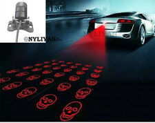 Rear Fog Light LED Laser Anti-Collision Brake Tail Warning Lamp skull For Ford Q