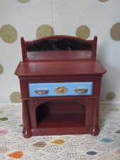 Fisher Price Loving Family Brown Buffet For Dollhouse