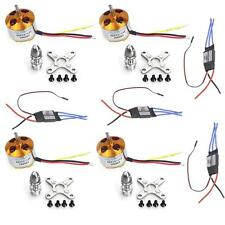 4 Sets A2212 1000KV Brushless Motor+30A ESC ,RC Aircraft KK QuadCopter F02015-A