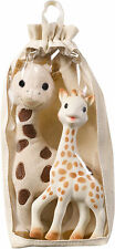 Vulli SOPHIE THE GIRAFFE SOFT AND ORIGINAL SET Baby/Toddler Soft Toy/Gift BN