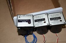 Tamura Time Hour Counter Gauges Modules Lot of 3 T603 T610 T-603 T-610