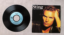 "VINYLE 45T 7"" SP MUSIQUE / STING ""FRAGILE / FRAGIL (PORTUGESE)"" 1988 A&M RECORDS"