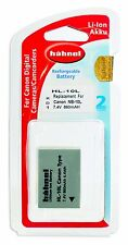 Hahnel HL-10L Power Pack Battery replacement for Canon nb-10l