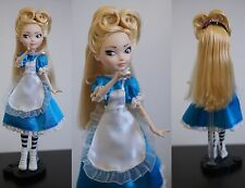 Custom Ever After High OOAK Alice in Wonderland  Alice au Pays des Merveilles