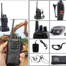 1 Pack Walkie Talkie Headset Two Way Radio 2 Long Range Security Patrol Police*