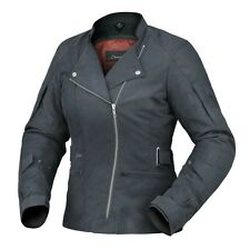 4XL 22 Ladies Womens Dririder Cruise Motorbike Jacket Touring $299 Black