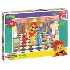 Sesame Street - The Furchester Hotel 'Afternoon Tea' Jigsaw Puzzle - Ages 3+ Yrs