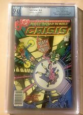 Crisis On Infinite Earths #4 PGX 9.0 - 95 Cents Canadian Price Edition / Variant